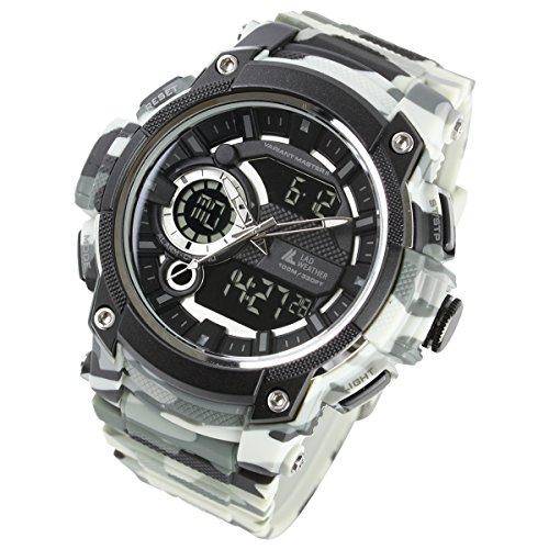 [LAD WEATHER] Military Watch/Triple time/Survival Game/ Outdoor/100m Water Resistance