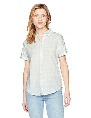 Levi's Women's Sadie Shirt, Bufflehead Snow White, X-Small