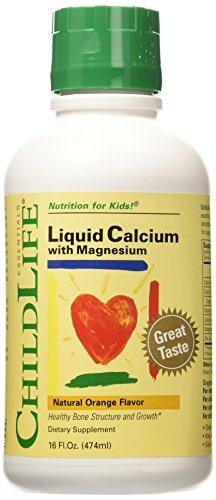 Liquid Calcium with Magnesium 16 oz by ChildLife Essentials