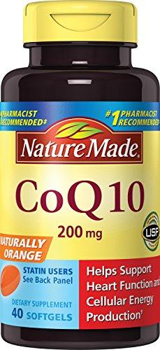 Nature Made CoQ10 (Coenzyme Q 10) 200 mg