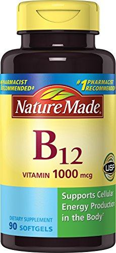 Nature Made Vitamin B12 1000 mcg. Softgels 90 Ct