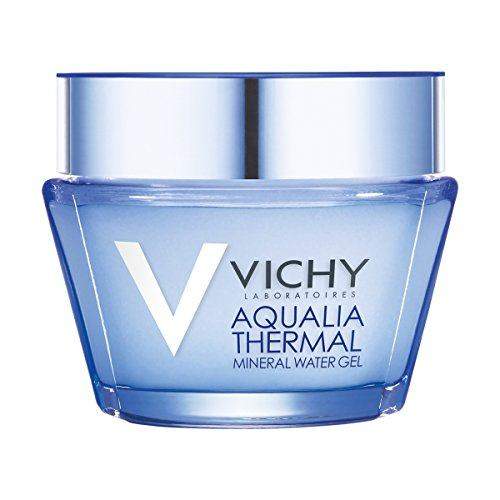 Vichy Aqualia Thermal Mineral Water Gel Face Moisturizer with Hyaluronic Acid, 1.69 Fl. Oz.